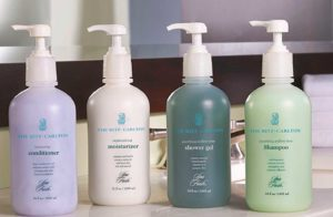 hotel pet cleaning bottles