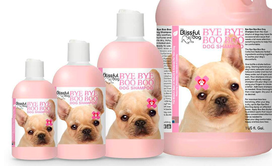 Dog Shampoo Containers