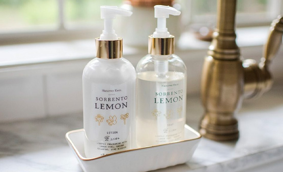Home Spa Lotion Bottles